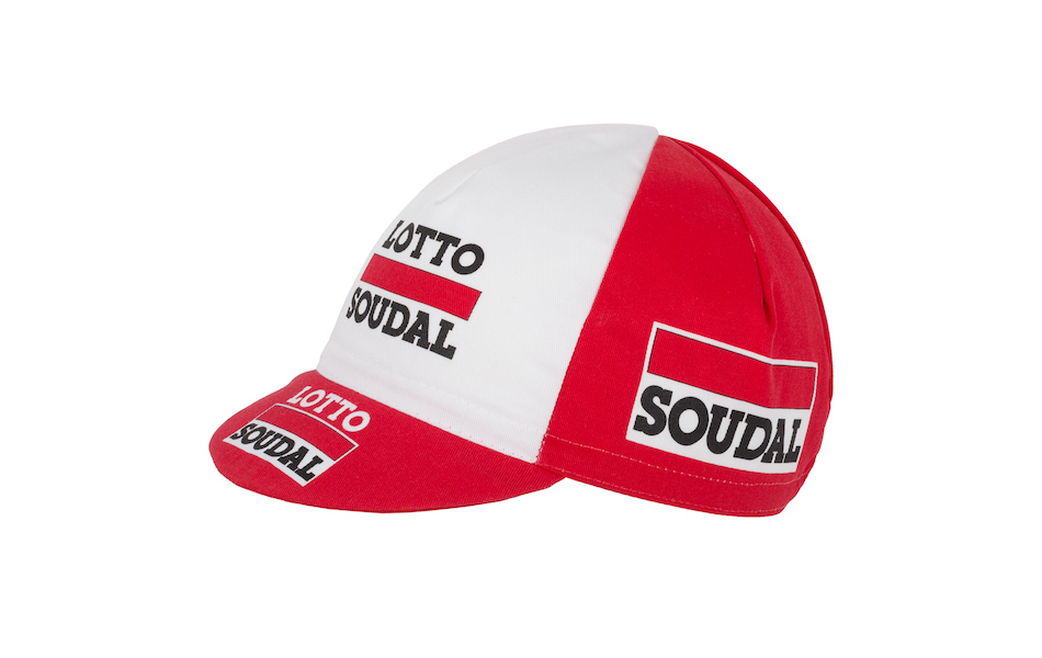 Apis 2016 Pro Team Cotton Cycling Cap / One Size / Lotto - Soudal