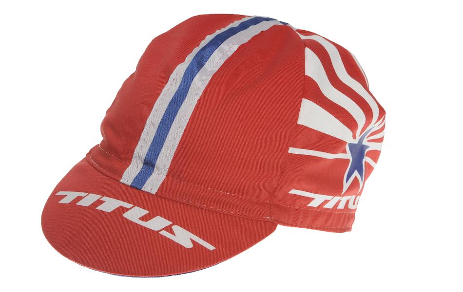 Titus Classic Cotton Cycling Cap