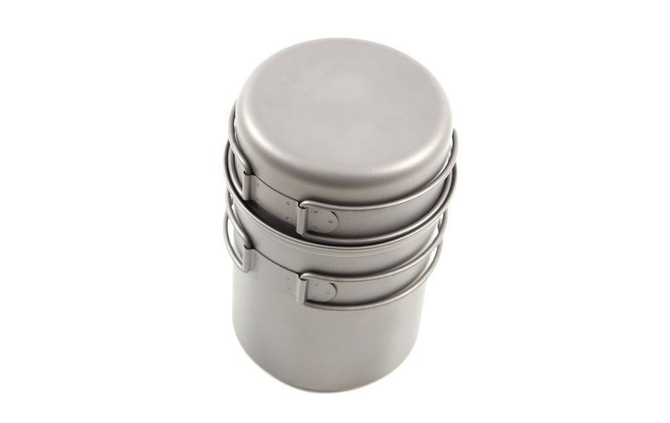 Jobsworth Titanium Pot Set