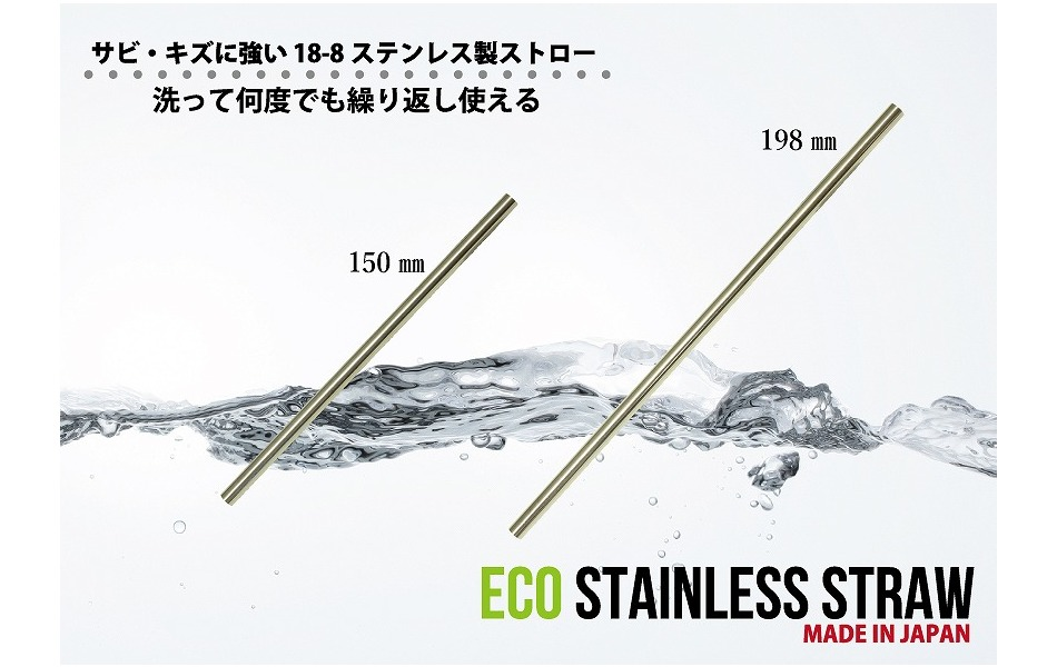 SEKIKAWA Japanese Stainless Steel 6mm Straw