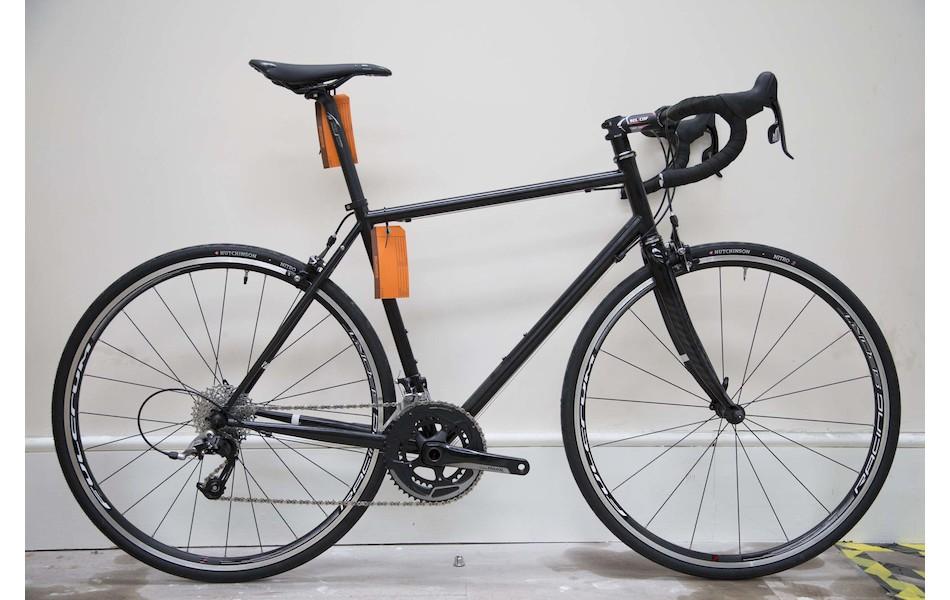 Holdsworth Brevet 853 Audax Bike / Medium / Matt Black / Rival 22