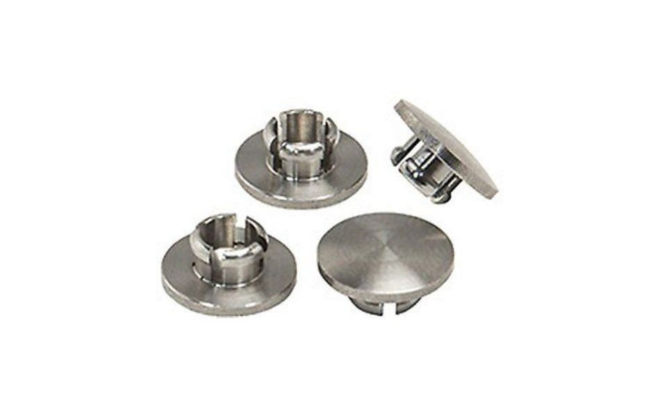 Nitto Stainless Steel Bolt Caps - Pack Of 4