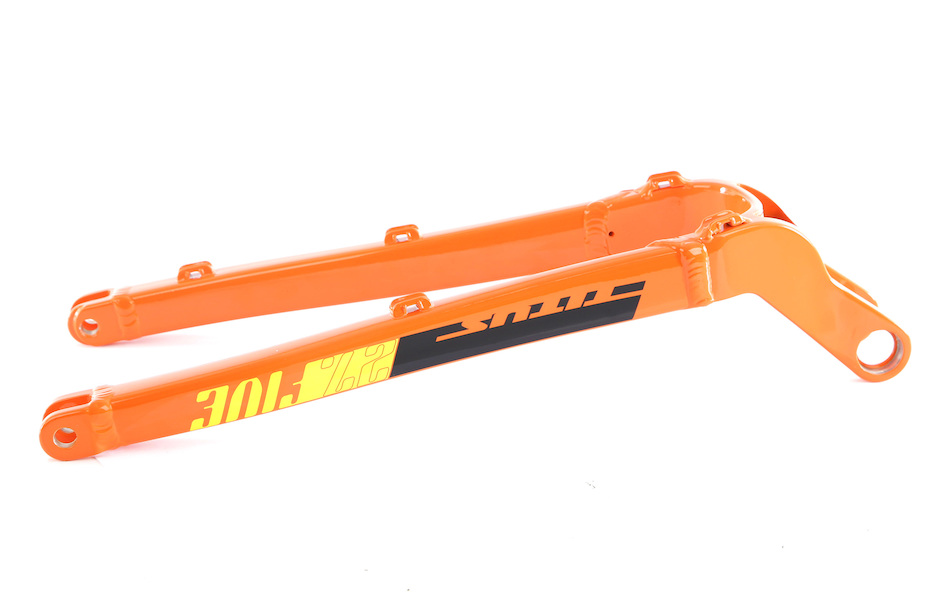 Titus El Viajero Trail Chainstay / Orange