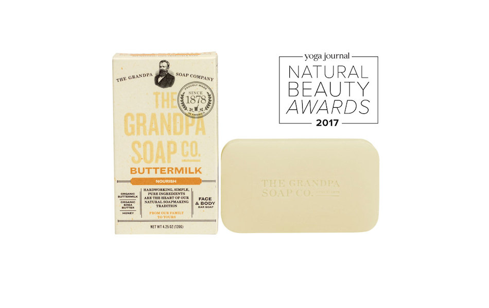 The Grandpa Soap Co Buttermilk Soap Bar