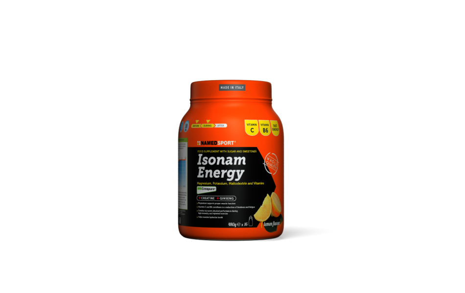 NAMEDSPORT Nutrition / Isonam Energy - Lemon 480g