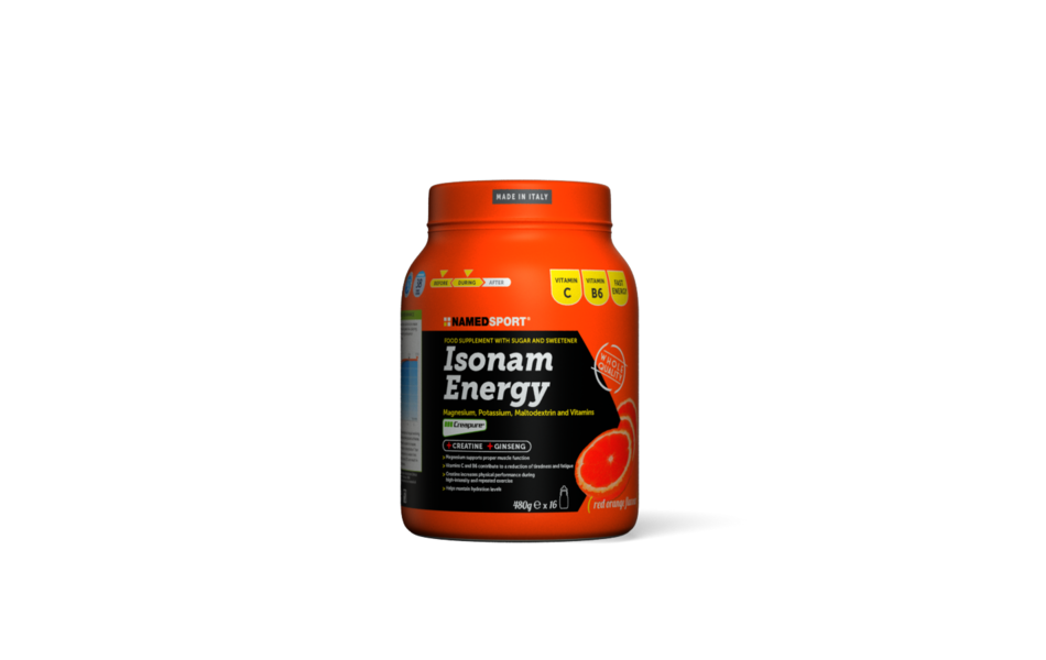 NAMEDSPORT Nutrition / Isonam Energy - Red Orange 480g