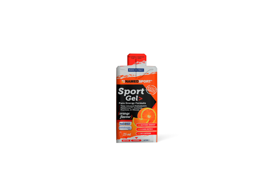 NAMEDSPORT Nutrition / Sports Gel - Lemon Ice Tea 25ml