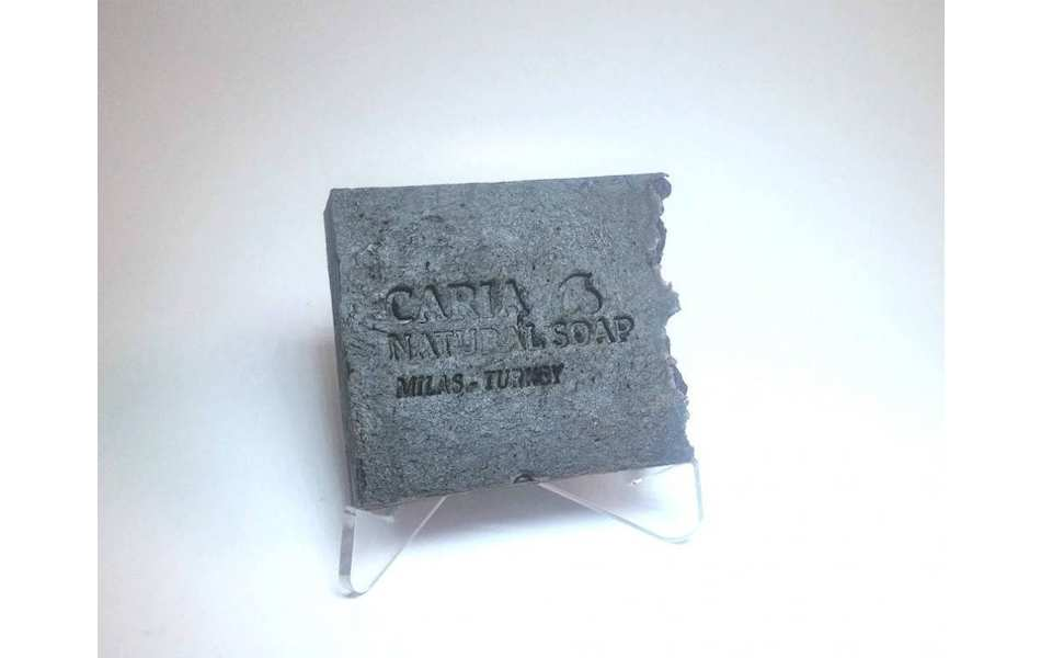 Caria Natural Peppermint Pine Tar Soap Bar