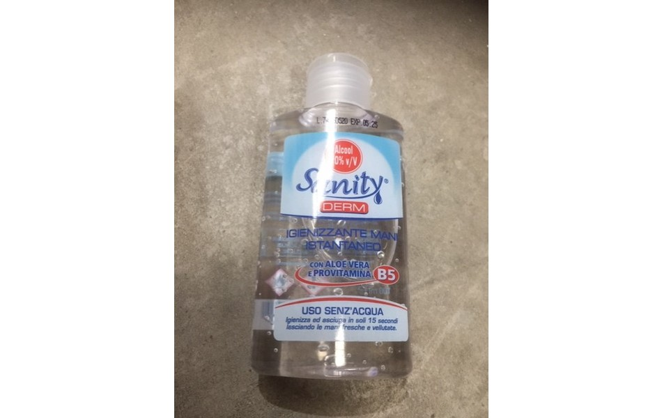 Sanity Alcohol Hand Sanitiser Gel