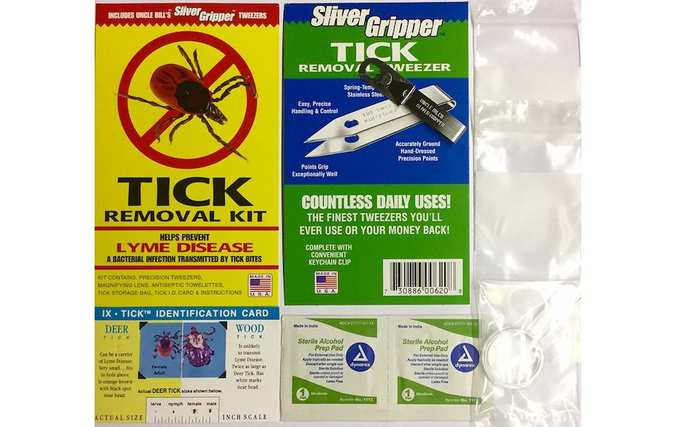 Uncle Bill's Silver Gripper Splinter & Tick Removal First Aid Kit