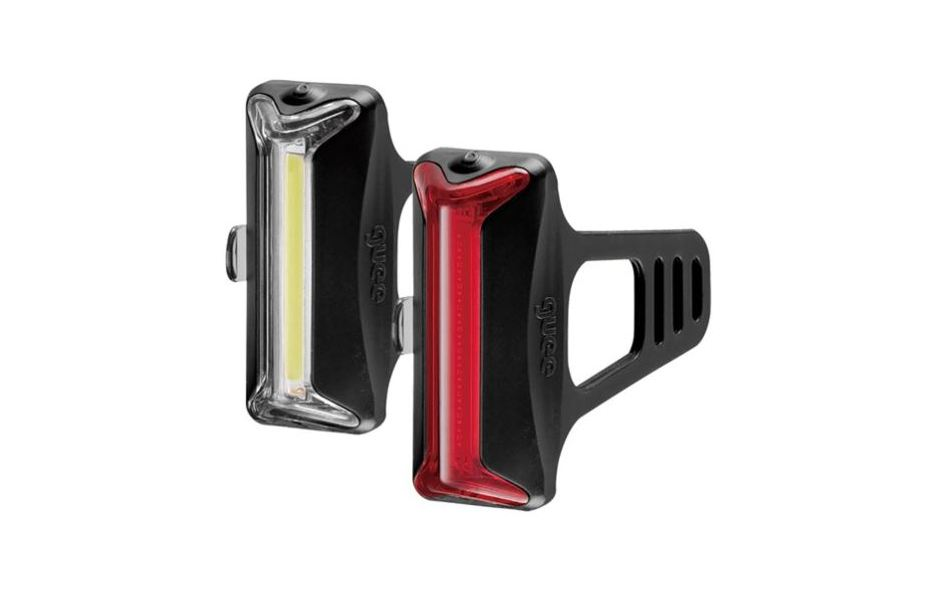 Guee COB-X Front & Rear Lights Black