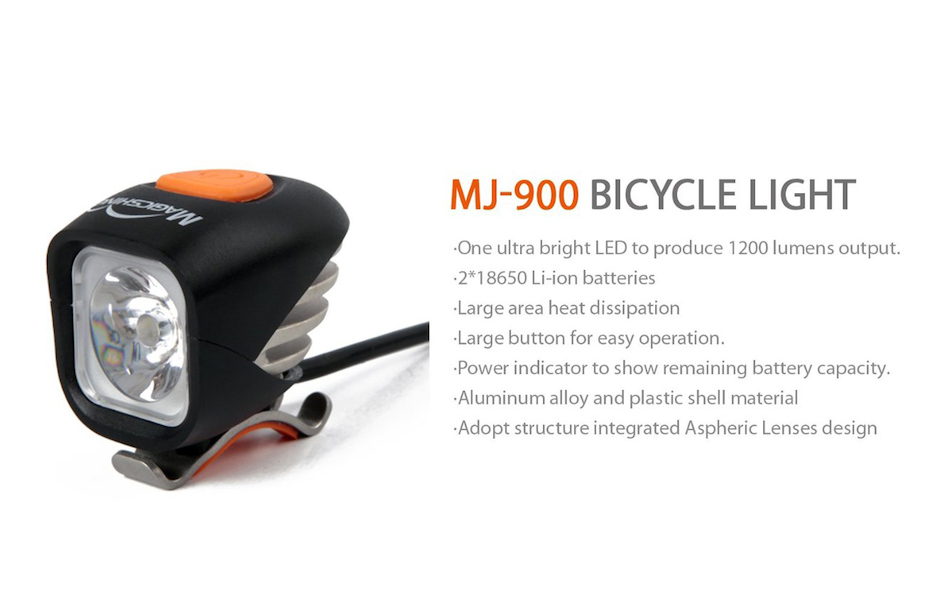 Magicshine MJ900 1200 Lumen LED Bicycle Light