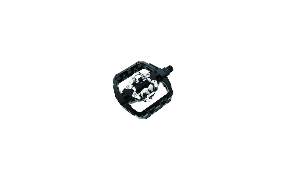 Jobsworth Dual Sided MTB Pedal Black With Cleat