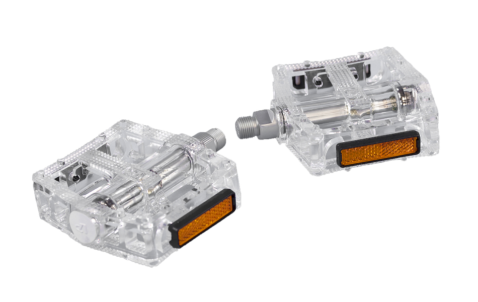 On-One Platform Pedals/ Clear