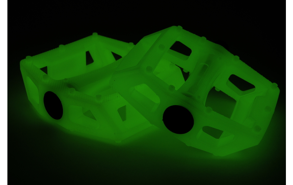 On-One Platform Pedals/ Glow in Dark