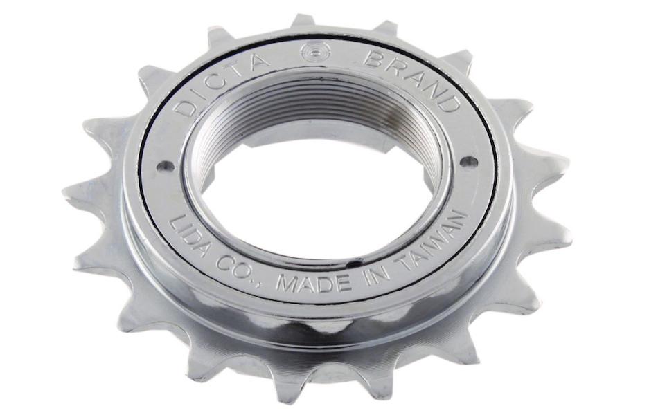 "DICTA Single Speed Fixie BMX Freewheel  1//2/"" x 1//8/""  16T Silver"