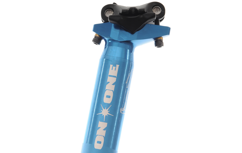 On-One Twelfty MTB Seatpost / 31.6mm / Anodised Blue