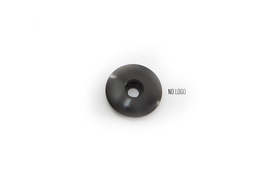 Stem Top Cap Black For 1 Inch Steerer No Bolt