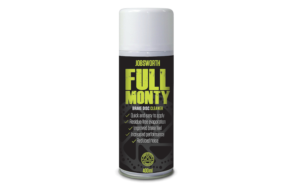 Jobsworth Full Monty Disc Brake Cleaner Spray