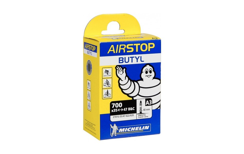 Michelin A3 Airstop Butyl Inner Tube