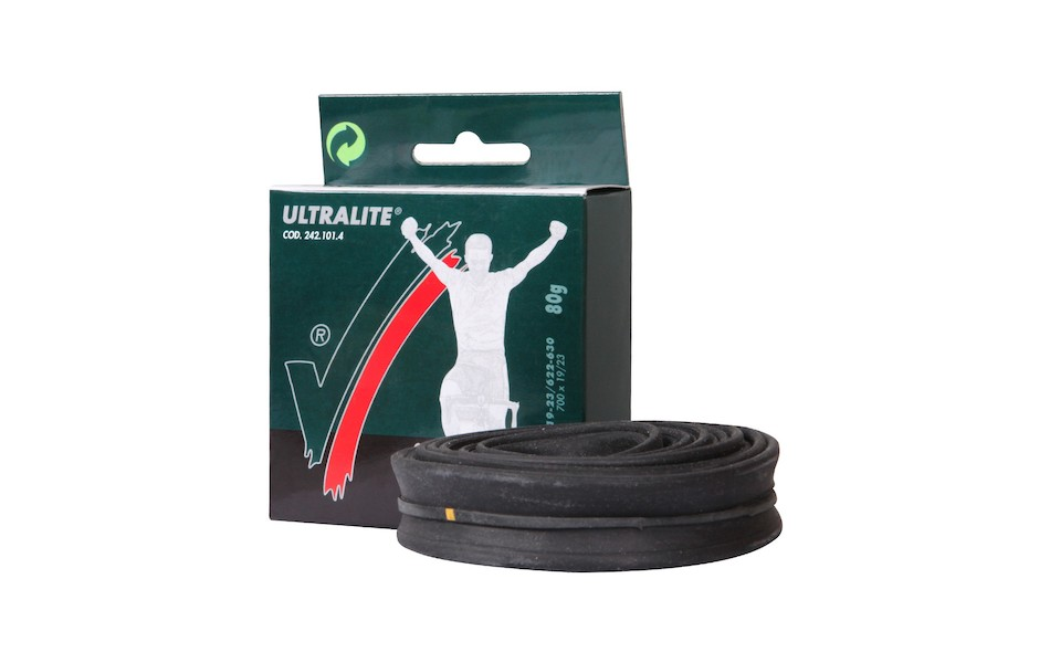 Vittoria Ultralite Inner Tube Unboxed / 700c / 19-23mm / Presta / Short (42mm)