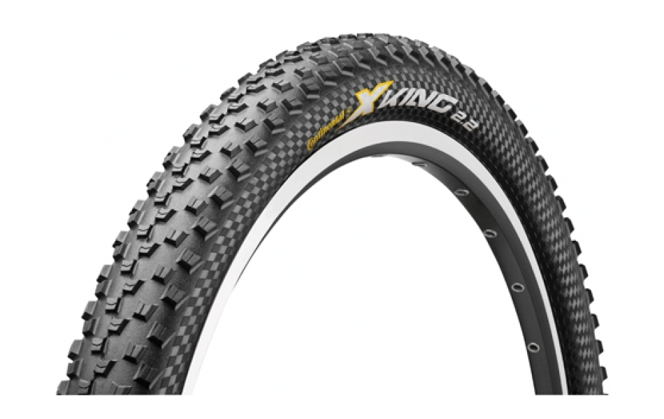 Continental X-King Skin Folding Tyre / 26er / Black / 2.2inch