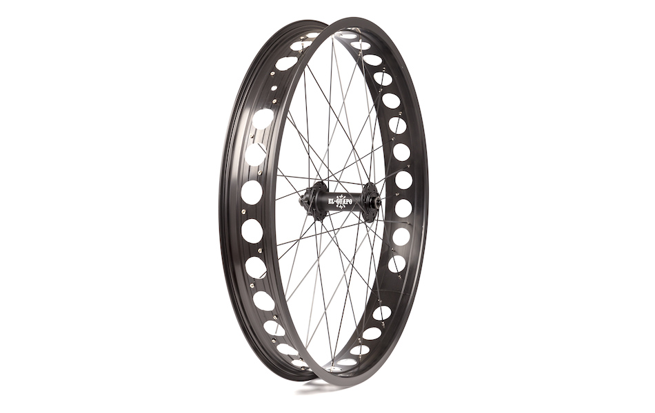 On-One Emmental Rim with El Guapo Comp Hub Front Fat Bike Wheel