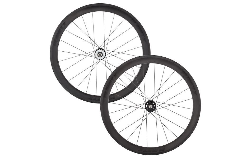 Planet X Pro Carbon 50/50 Track Wheelset   Planet X