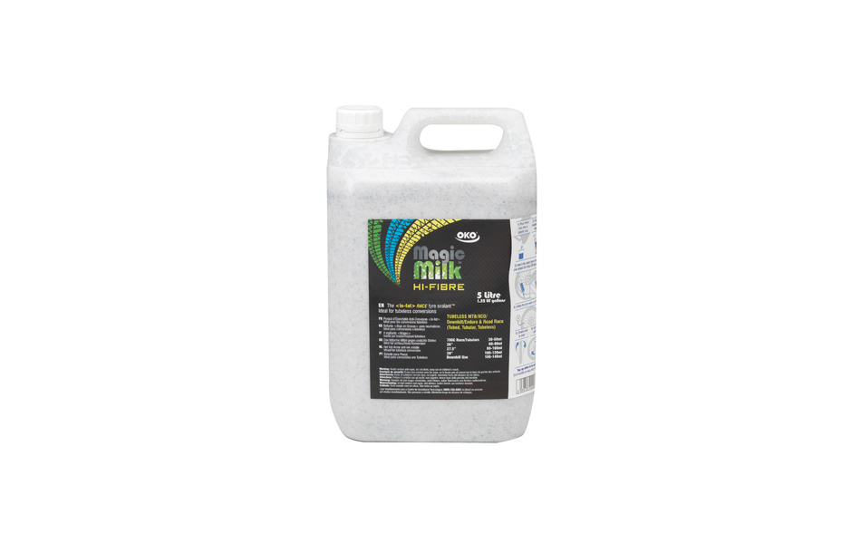 OKO Magic Milk Hi-Fibre Tyre Sealant / 5 LItre
