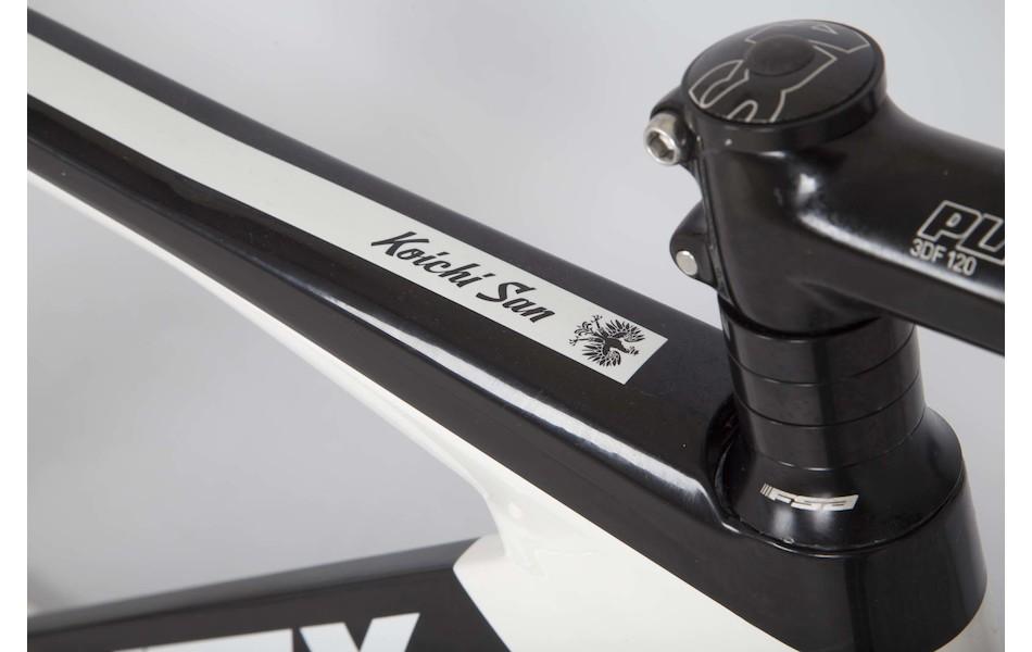Planet X Koichi San 1 / X Small / Black and White / 50/50 Carbon Track Wheels / Used