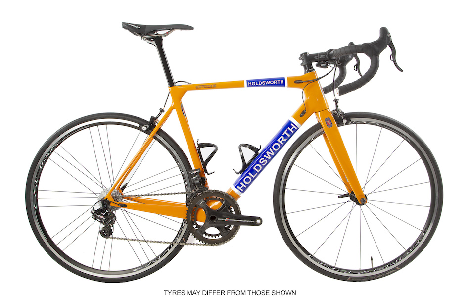 Holdsworth Super Professional Super Record EPS / Medium 54cm / Team Orange / Calima Wheels - Ex Team