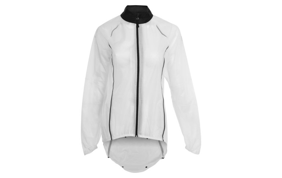 c6a7969a8 Agu Secco Womens Rain Jacket / White And Black / Small / Rear Popper ...
